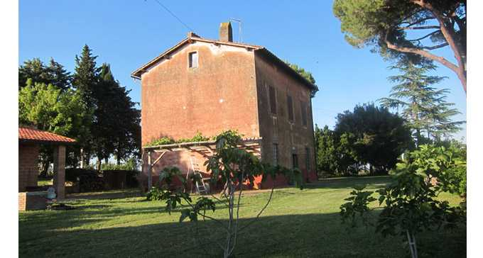 Home Exchange Italy Viterbo Tuscania Green Theme International He34005
